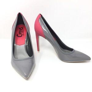 Sam Edelman Circus Maven Hot Pink/Gray Stiletto